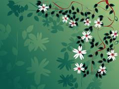 Stock Illustration of Abstract apple tree