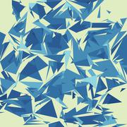 Stock Illustration of Broken glass texture, vector illustration