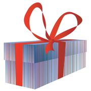 Giftbox for you - stock illustration