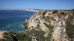 Coastline Portugal Stock Footage