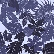 Leaves  scene Stock Illustration