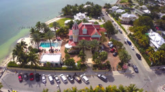 Southernmost House Key West Stock Footage