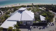 Nikki Beach Miami Beach club Stock Footage