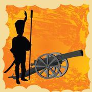 Cannon Stock Illustration