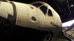 Original Space Shuttle Atlantis at Kennedy Space Center Stock Footage