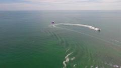 Key west parasail Stock Footage