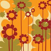 Stock Illustration of Warm flowers