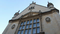 Examination Schools of University of Oxford. (OX UNI ST SCENE28EXAMINATION HALL3 Stock Footage