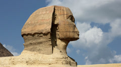 Timelapse Of The Sphinx In Giza Valley, Cairo, Egypt 2 Stock Footage