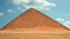 Timelapse Of The Great Pyramids In Giza Valley, Cairo, Egypt 4 Stock Footage