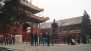 Stock Video Footage of Beijing Lama Temple Yonghegong 05