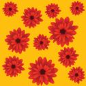 Stock Illustration of red flowers