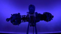 Planetarium Projector, Astronomy, Science Stock Footage