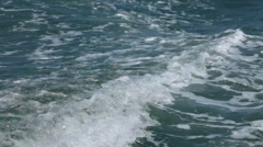 Closeup shot of sea water Stock Footage