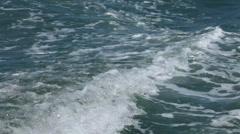 Closeup shot of sea water Stock Footage