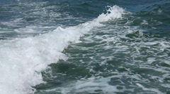 Outdoor shot of sea water Stock Footage