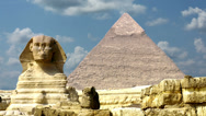 Stock Video Footage of Timelapse Of The Great Pyramids In Giza Valley, Cairo, Egypt 4k 3
