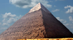 Timelapse Of The Great Pyramids In Giza Valley, Cairo, Egypt 4k 2 Stock Footage