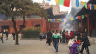 Stock Video Footage of Beijing Lama Temple Yonghegong 07