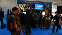 Number 1 video stock company POND5 at BVE 2014 Stock Footage