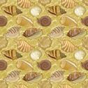 Stock Illustration of Seamless background, seashells