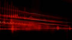 Animated tausta äänielementtien Arkistovideo