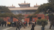 Stock Video Footage of Beijing Lama Temple Yonghegong 10