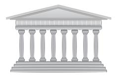 greek dome vector illustration - stock illustration