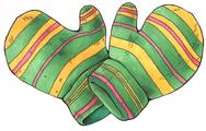 Stock Illustration of Gloves