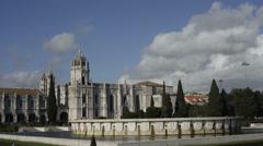 The Hieronymus Monastery Stock Footage