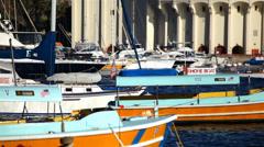 Avalon Harbor 02 HD Stock Footage