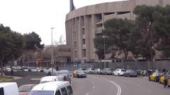 Barcelona football club Stock Footage