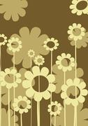 Floral composition Stock Illustration