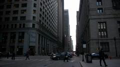 Chicago Burnham Center Famous Building Stock Footage