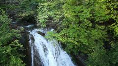 Jur-Jur Waterfall, Crimea peninsula, Ukraine Stock Footage