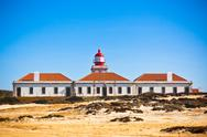 Stock Photo of lighthouse of cabo sardao, portugal