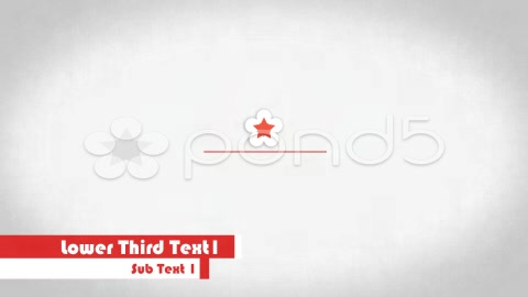 After Effects Project - Pond5 Lower Third 2 35602439