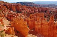 Redrock hoodoos in Bryce Canyon, Utah Stock Photos