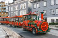 Stock Photo of Road sightseeing train in Bergen