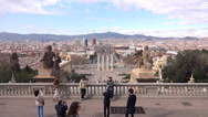 Stock Video Footage of national museum of catalan barcelona