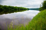 Beautiful river in Minnesota Stock Photos