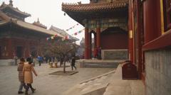 Beijing Lama Temple Yonghegong 13 Stock Footage