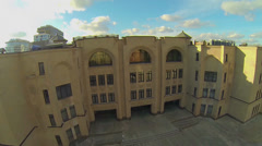 Edifice of complex of Armenian church Surb Khach Stock Footage