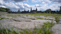 Dresden Landscape Ground View of Dresden. Stock Footage