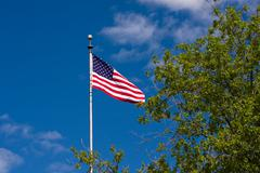 American flag. stars and stripes Stock Photos