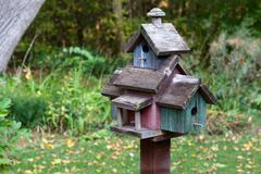 Large bird house Stock Photos