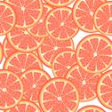 Stock Illustration of seamless grapefruit
