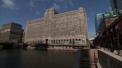 Merchandise Mart - Chicago - stock footage