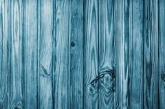 Unique Wooden Pine background or texture Blue - stock photo