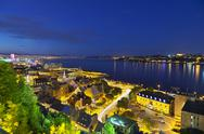 Stock Photo of Quebec City And St. Lawrence River, Canada